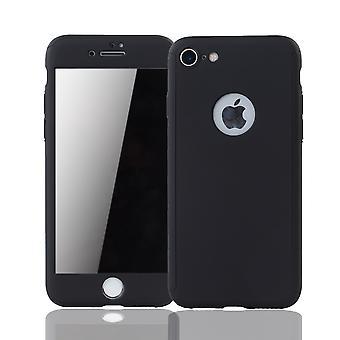 Omena iPhone 6/6s soittaa puhelimella asia säilö suojata akvaario toppi suojelus lasi musta