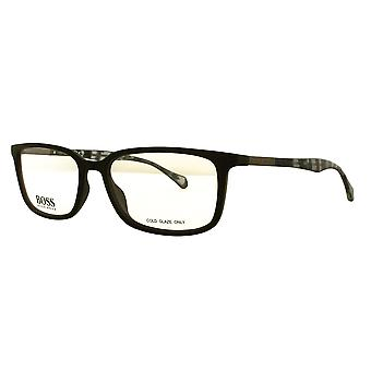 Hugo Boss 0827 YV4 Black-Grey Havana Glasses