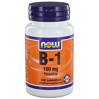 B1 100 mg (100 onglets) - NOW Foods