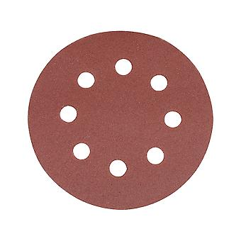 Hook and Loop Discs Punched 115mm 10pk - 115mm 240 Grit
