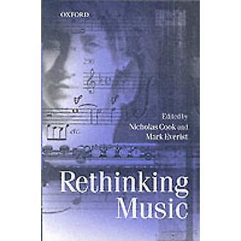 Rethinking Music de Nicholas Cook