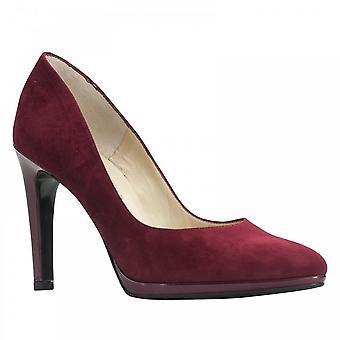 Peter Kaiser Herdi Barolo Suede Platform High Heel Court Shoe