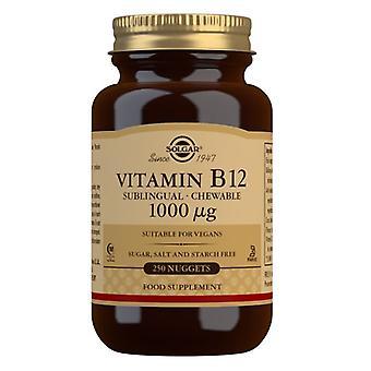 Solgar vitamiini B12 1000ug Nuggets 250 (3230)