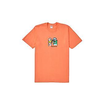 Supreme Bite tee Neon oranssi-vaatetus
