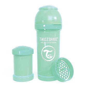 Twistshake Baby Bottle Anticolic 260Ml - Pastel Green
