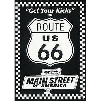 Route 66 Main Street of America metal sign
