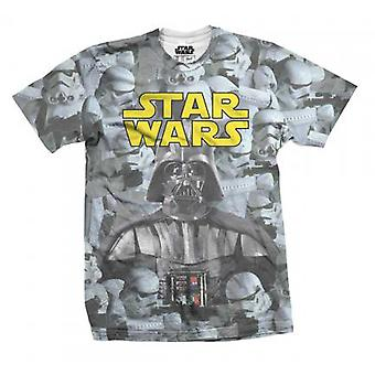 Imperial Montage Star Wars Sub Darth Vader T-Shirt Ufficiale