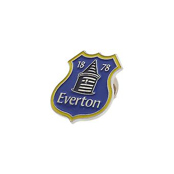 Everton FC Official Metal Football Crest Pin Badge