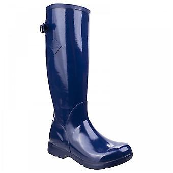 Muck Boots Navy Bergen Tall Lightweight Rain Boot