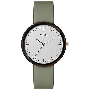 Mam Original japanese Quartz Analog Man Watch with PLANO Cowskin Bracelet 643
