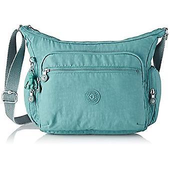 Kipling Cages - Blue Women's Shoulder Bags (Aqua Frost) 35.5x30x18.5 cm (B x H T)