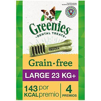 Greenies Snack Natural Grain Free Dental for Large Dogs  (Dogs , Treats , Dental Hygiene)