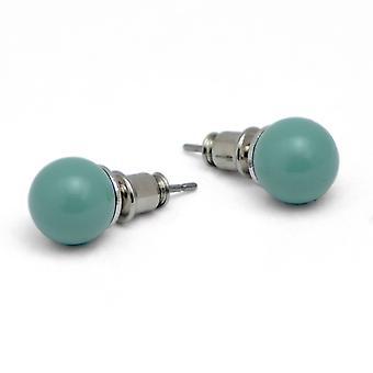 Stud Earrings with Crystal Pearls EMB16.10