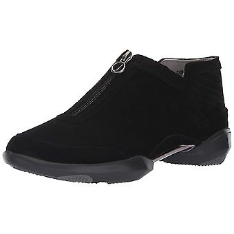 Jambu Womens Remy Leather Low Top Zipper Fashion Sneakers