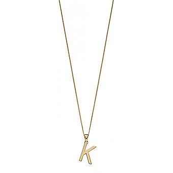 Joshua James 9ct Gold Letter K Pendant