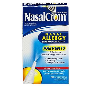 Nasalcrom nasal allergy symptom controller, 100 metered sprays, .44 oz