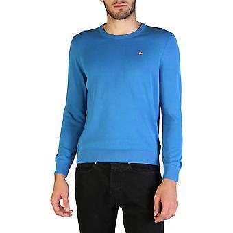 Napapijri Original Men Fall/Winter Sweater - Blue Color 35885