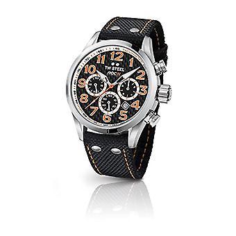 TW Steel Unisex Quartz Chronograph Watch with TW966 fabric strap