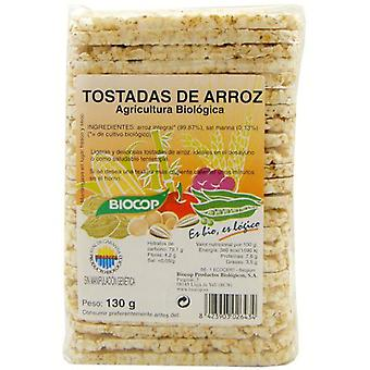 Biocop Toasted Rice With salt Integral