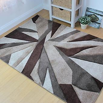 Shatter Rugs In Beige And Brown