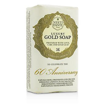 60 Anniversary luxury gold soap with gold leaf (limited edition) 189761 250g/8.8oz