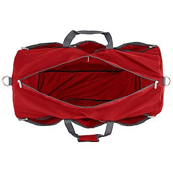 AmazonBasics Large Travel Luggage Duffel Bag - Red, Red, Size Large