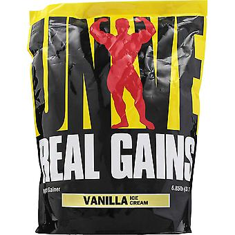 Universal Nutrition Real Gains - 20 Servings - Vanilla Ice Cream