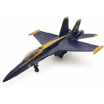 Snap samen Model F/A-18 Blue Angels straaljager