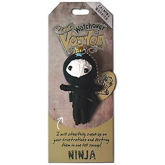 Waakover Voodoo Dolls Ninja Voodoo Sleutelhanger