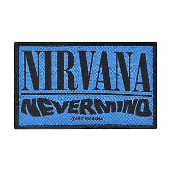 Nirvana Nevermind Woven Patch