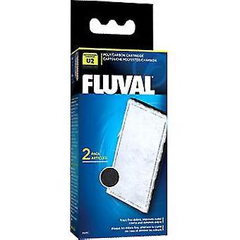 Fluval Carbon Lataa suodattimen U2 (kala, suodattimet & vesipumput, suodattaa sieni ja vaahdon)