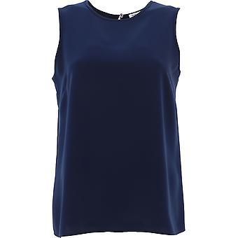 P.a.r.o.s.h. D310257x012 Women's Blue Polyester Top