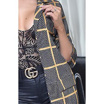 Valerie Longline Jacket - Women - Grey