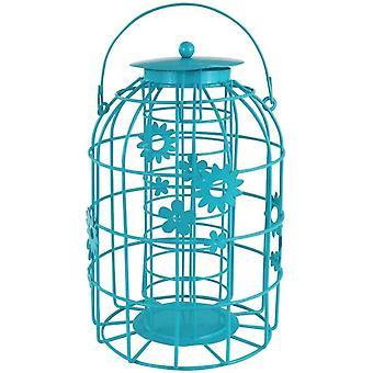 My Garden Flower Cage Bird Fatball Feeder Decorative Feeding Station