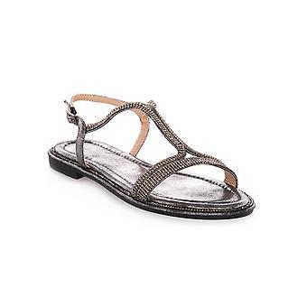 Cafe noir double t microstrass sandals