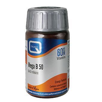 Quest Vitamins Mega B-50 Tabs 60 (601211)