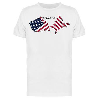 Riksrätt Riva USA Map Tee Men & apos; s -Bild av Shutterstock Men & apos; s T-shirt