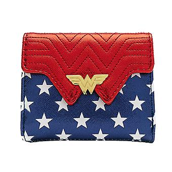 Wonder Woman Purse Red White and Blue nuovo loungefly ufficiale DC Comics Blue