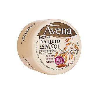 Instituto Espanol - Avena Hydratant Crème Main & Body krem do ciała Owies - 400ML