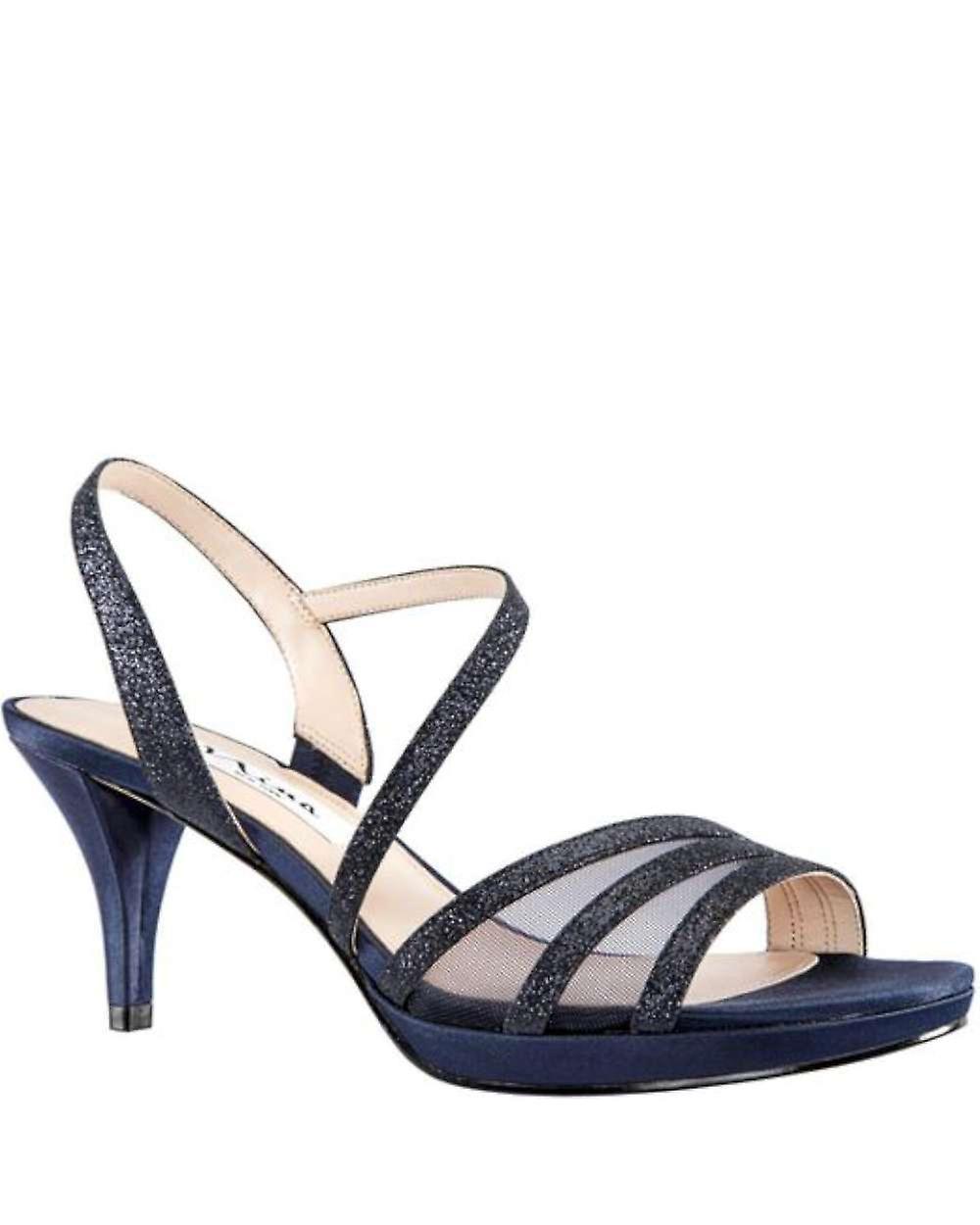 NINA FOOTWEAR Womens Nazima Open Toe Special Occasion Slingback Sandals UfYbR
