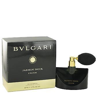 Jasmin Noir L'elixir Eau De Parfum Spray por Bvlgari 1,7 oz Eau De Parfum Spray