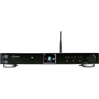 Renkforce RF-DAB-IR1700 Radio adapter DAB+, FM Internet radio, Wi-Fi, LAN, Bluetooth, DLNA DLNA-compatible Aluminium (brushed)