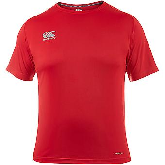 Canterbury Mens Core Vapodri Superlight Wicking Logoed T Shirt