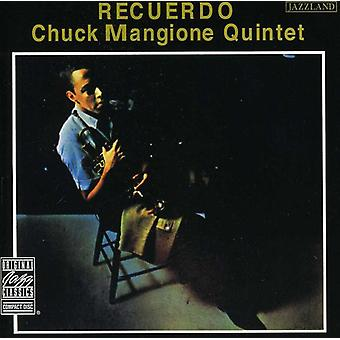 Chuck Mangione - Recuerdo [CD] USA import