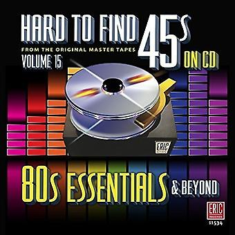Various Artist - Hard to Find 45S on CD 15 - 80's Essentials [CD] USA import