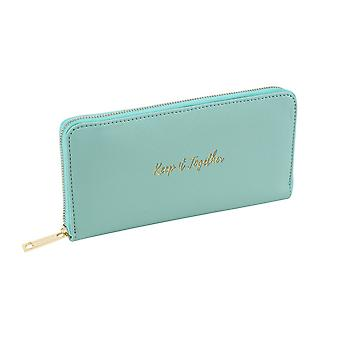 CGB Giftware Willow And Rose Keep It Together Teal Wallet/Purse