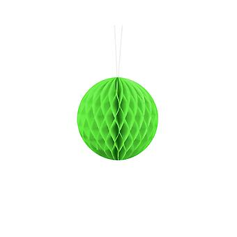 10cm Lime Green Tissue Paper Honeycomb Ball Wedding Party Decoration