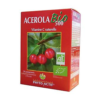 Organic Acerola 500 100 tablets