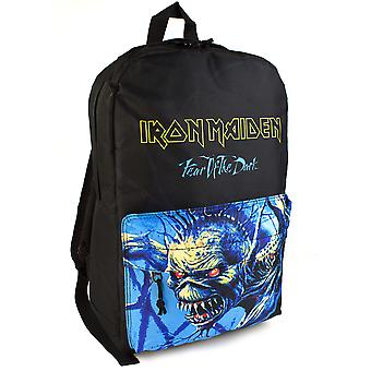 Iron Maiden Backpack Rock Sax Fear of the Dark Album Eddie Rucksack Bag Adults