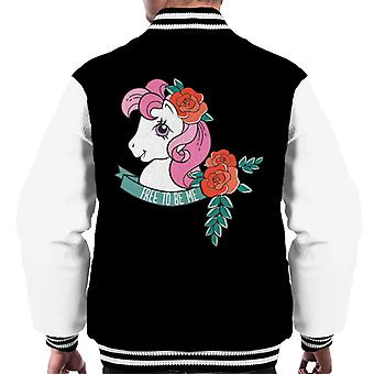 My Little Pony Free To Be Me Men's Varsity Giacca